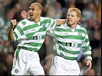 Henrik och Nellie, två av Celtic främsta legendarer i modern tid. Henrik representerande fotbollskonsten och Nellie ledaren och det rebelliskt irländska.