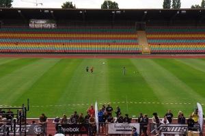 """Tror att sittplatserna kom till under slutet av 80-talet men skisser i området visar att det från början var tänkt som ett fält - ungefär sm den stadion i Prag som tog en kvarts miljon """"åskådare"""". Camp Nou kan slänga sig i väggen..."""