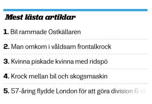 """Ur Ystads Allehanda dagen efter. Långsamt fasas jag ut från topplistan av dödsfall, bilolyckor och piskade kvinnor. Behovet av """"solskenshistorier"""", som YA:s Janne Ohlsson formulerade det ska inte underskattas."""